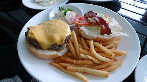 Power House Burger from Kilimanjaro Cafe