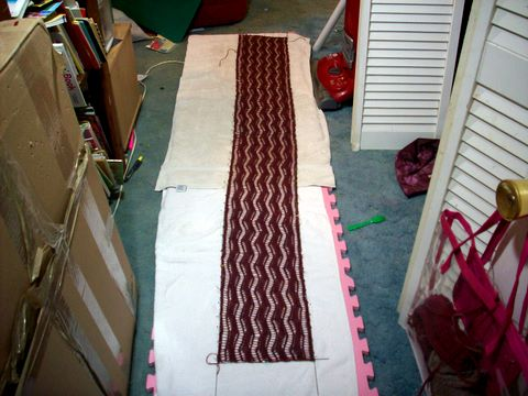 Lace Ribbon BLOCKING