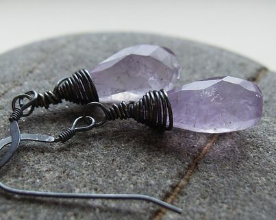 Mystique Amethyst Earrings - Joanniel Creations