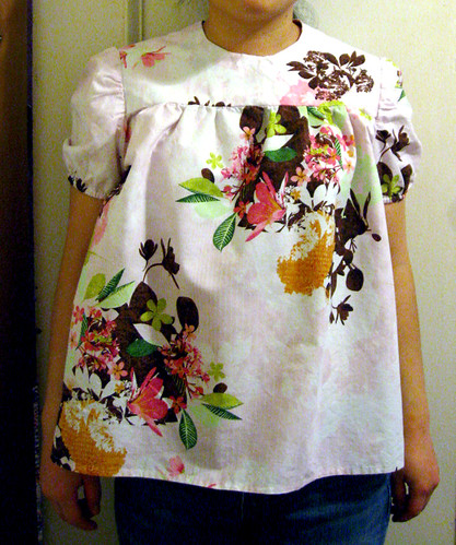 Babydoll Top from Chic & Simple Sewing