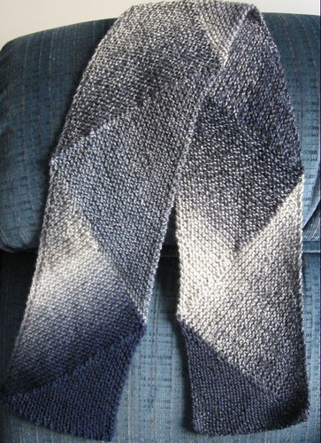 bluetrianglescarf
