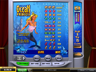 free Ocean Princess slot mini symbol