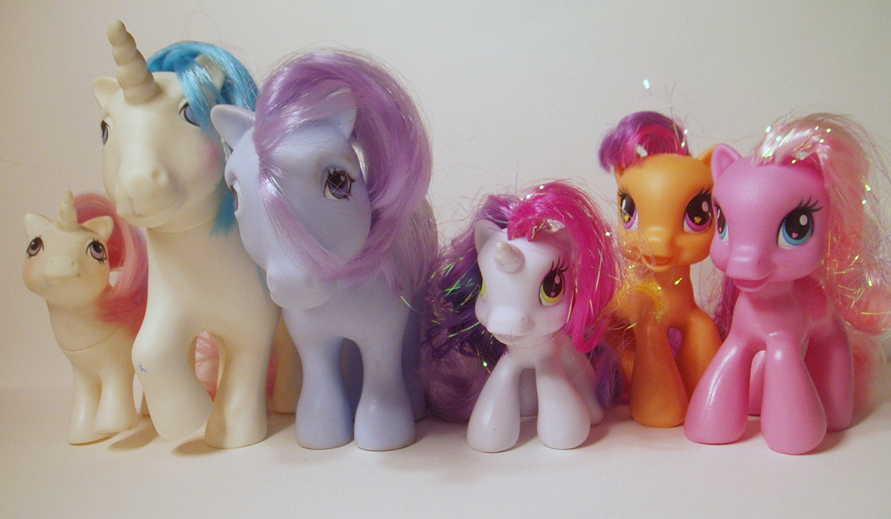 Peggy's My Little Ponies
