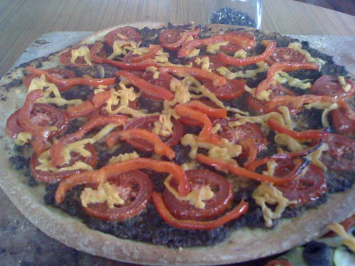 David's pesto pizza
