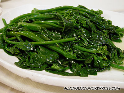 Jade green veggies