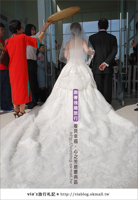 【心之芳庭】幸福婚禮登場~台中心之芳庭慶典區24