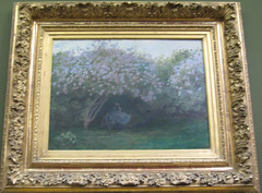 Claude Monet, Lilas, Temps gris, 1872 (gaelle_kermen) Tags: paris peinture claudemonet musedorsay effets laseine impressionnisme impressionniste cathdralederouen vetheuil tempsgris