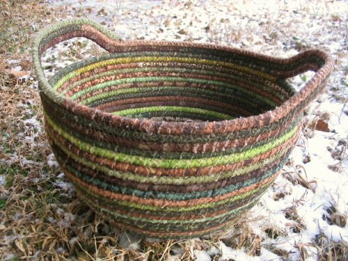 Brown Cord Basket