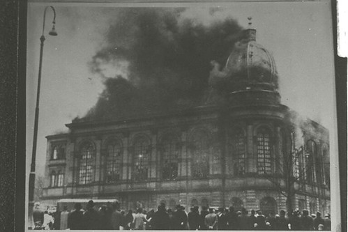 Frankfurt am Main Synagogue; Kristallnacht