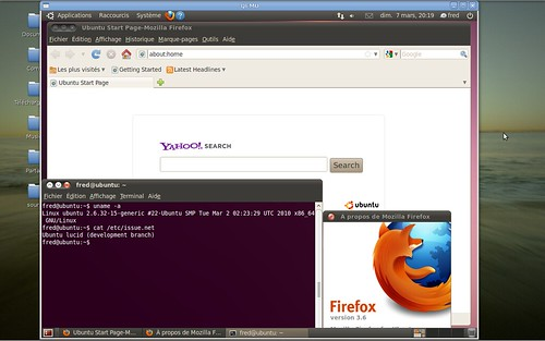 Ubuntu Lucid Lynx post-alpha3