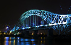 starburst bridge (DSLR Lee) Tags: bridge northwest starburst runcorn widnes runcornbridge