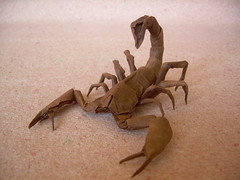 Escorpion (Scorpion) ([~Nic]) Tags: origami colombia bogota scorpion explore nicolas cp gajardo escorpion henriquez