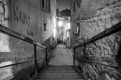 Stairs (iamvanja) Tags: longexposure bw canon croatia zagreb cb hdr hrvatska 30d 1770mm vanjagavric
