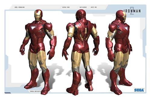Iron Man2 - Iron Man Character Render