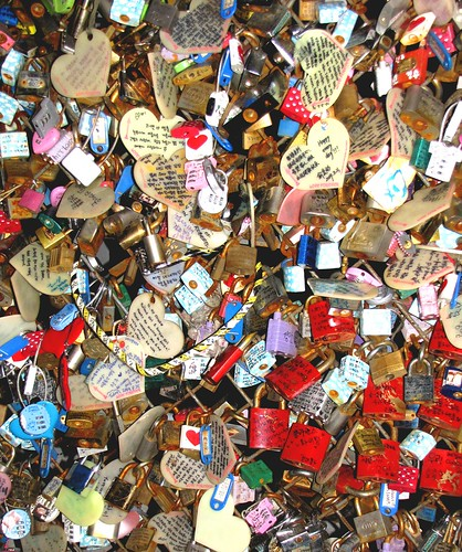 Korea Trip - Seoul Tower Locks 1