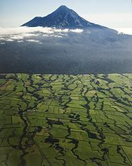 Mt Taranaki  from the air (Ian@NZFlickr) Tags: mountain island volcano north mount nz aotearoa extinct taranaki flickrsbest