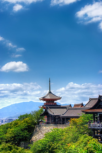 Splendid View Over Kyoto