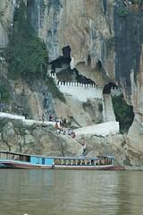 Pak Ou Caves - Luang Prabang (pyjama) Tags: river boat raw buddha ou cave laos 1000 thousand mekong luangprabang luang pak prabang