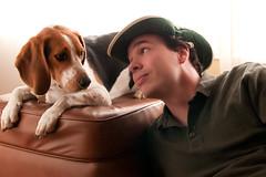 297/365 Tribute to Alibubba (Paguma / Darren) Tags: dog me copycat hound floyd tamronspaf1750mmf28xrdiiildasphericalif alibubba