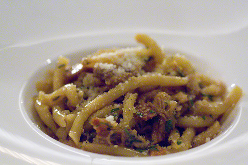 Strozzapreti and Sickling Pig Ragu