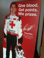 Even Vancouvers own Greg Biffle donates blood