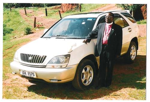 New Car for Bishop Muhereza!