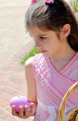 Talking Egg (barneydog1972) Tags: kids easter outside cassie april 2010 egghunt - 4506111200_bae3dce6fd_m
