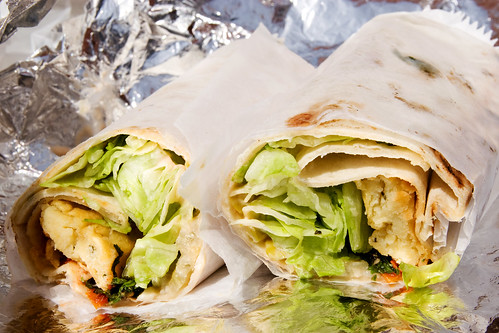 the falafel-y wrap