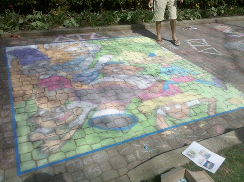 Delta Tau Delta's Chalk on the Mall