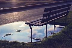 Jump Seat (Anti-Matt) Tags: sky canada reflection english grass vancouver lens bay chair nikon flare d80