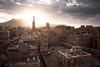 Sunrise over Sana'a (sadaiche (Peter Franc)) Tags: old sunrise town felix middleeast arabic arabia yemen sanaa oldtown sana muezzin calltoprayer arabiafelix