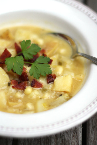 A Potato Corn Chowder