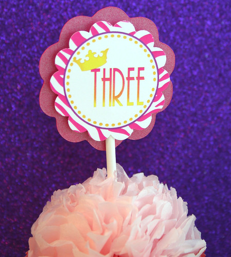 Fancy Nancy Cupcake 2