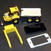 Lego set 7631 with iPod Touch