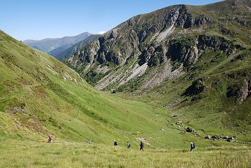 Sur les traces de Trutat : descente du col de Saleix