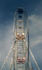 Abandoned Ferris Wheel (mikhailkorzhalov) Tags: canon sigma eupatoria ferriswheel ferriswheels nopeople abandonedferriswheel abandoned sigma1750 17mm construction crimea