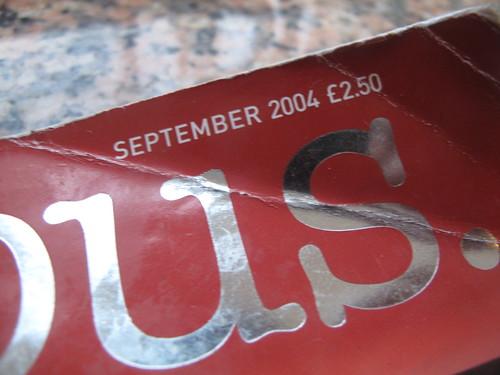 Delicious September 2004