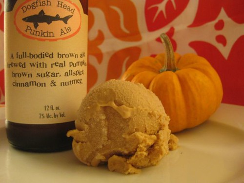 Pumpkin Beer Ice Cream 1