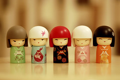 spice gurls ( lalu) Tags: girls japanese funny dolls bokeh cuties yoshi sai collectibles spicegirls kimmi morestuffs