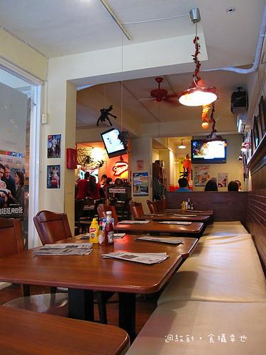 Evans Burger 店內