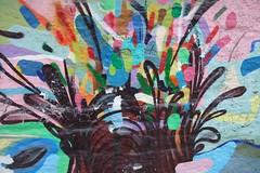 paint explosion detail