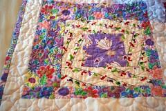 Another Princess Quilt CloseUP