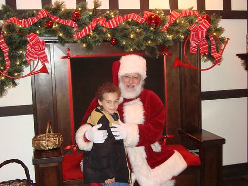 Aidan and Santa