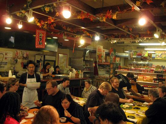 Otakon Board of Directors Dinner at Maido (Click to enlarge)