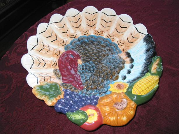 Turkey Cake Platter