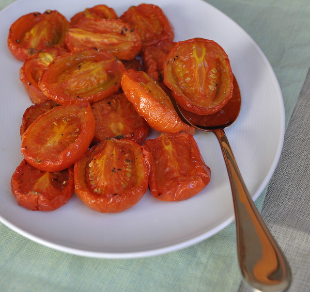 Slow Roasted Tomatoes for Thanksgiving