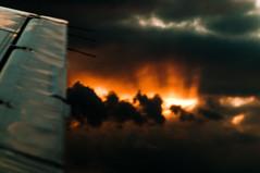 escape (nosha) Tags: sky beautiful beauty plane airplane fire newjersey nikon king pattern air horizon flight wing apocalypse nj aerial february f56 beechcraft 2009 lightroom d300 105mm blackmagic nosha 150sec 0ev nikond300 february2009 0mmf0 150secatf56 apocalypsefirday