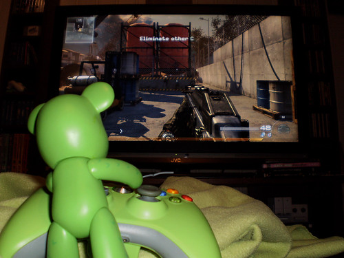 2/365 Playing Call of Duty: Modern Warfare 2
