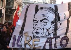 No B day - Reato (LiberaReggio) Tags: b roma san day no massa piazza popolo viola mafia berlusconi giovanni manifestazione repubblica corteo noponte folla nobday
