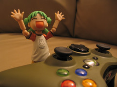 Elation (slidercleo) Tags: toy actionfigure xbox controller yotsuba revoltech